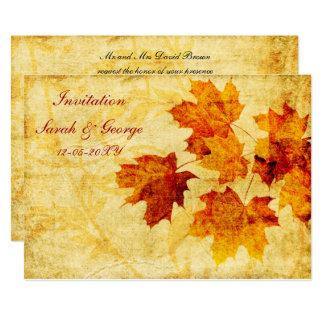 Hochzeit im Herbst Einladungskarten 12,7 X 17,8 Cm Einladungskarte