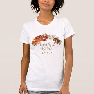 Hochzeit im HerbstWreath orange M von der Braut T-Shirt