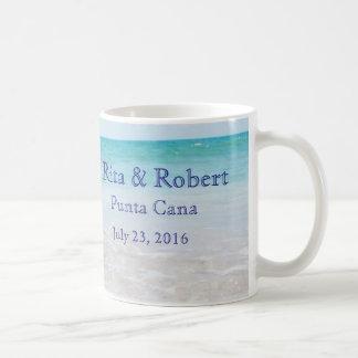 Hochzeit in Urlaubsorts-Tasse Tasse