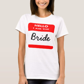 Hochzeit, Junggeselinnen-Abschied, Henne-Party T-Shirt