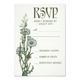 Hochzeit UAWG kardiert | Blumenkunst Nouveau Karte