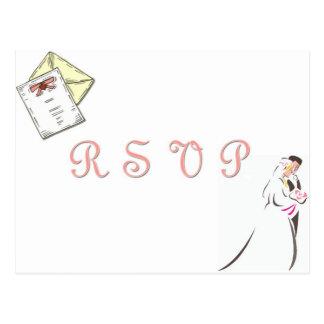 """""""Hochzeit UAWG"""" Postkarte"""