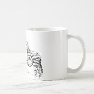 Hochzeit Zebras Kaffeetasse