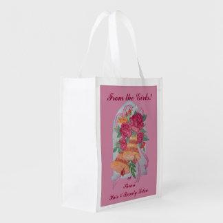 Hochzeits-Bell-Andenken-wiederverwendbare Tasche Wiederverwendbare Einkaufstasche