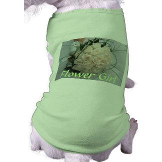 Hochzeits-Blumen-Mädchen-Haustier-Kleidung