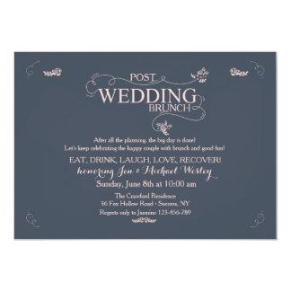 Hochzeits-Brunch-Einladung 12,7 X 17,8 Cm Einladungskarte