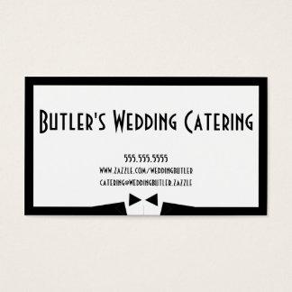 Hochzeits-Catering-Geschäfts-Karte Visitenkarte