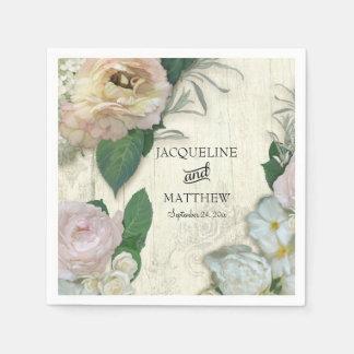 Hochzeits-Dekor-modernes Vintages hübsches mit Serviette