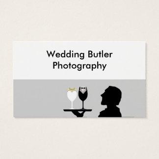 Hochzeits-Dienstleistungsunternehmen-Karte Visitenkarte