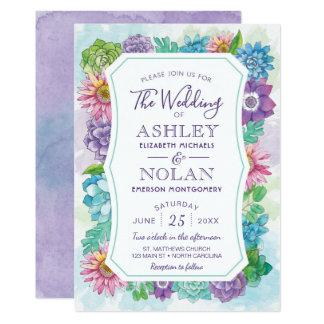 Hochzeits-Einladung - Frühling und Sommer mit 12,7 X 17,8 Cm Einladungskarte