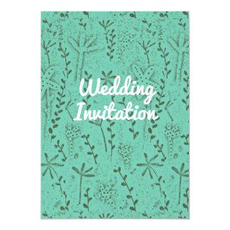 Hochzeits-Einladung rustikal Karte