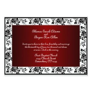 Hochzeits-Einladungen 12,7 X 17,8 Cm Einladungskarte