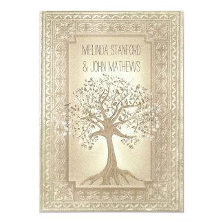 Hochzeits-Einladungs-Stammbaum 12,7 X 17,8 Cm Einladungskarte