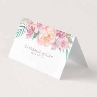 Hochzeits-Eskorte-Karten   erröten und Blüte Platzkarte