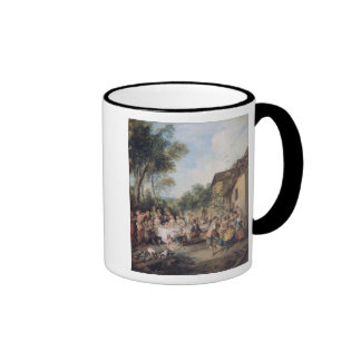 Hochzeits-Fest im Dorf Kaffeetassen