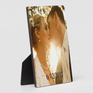 Hochzeits-Foto-Plakette Schautafel