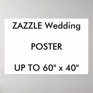 """Hochzeits-Gewohnheit 16,5"""" x 11"""" Plakat-GLATTE Poster"""