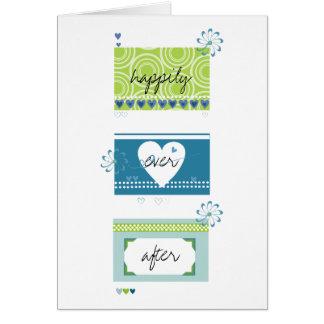 Hochzeits-Glückwunsch Karte