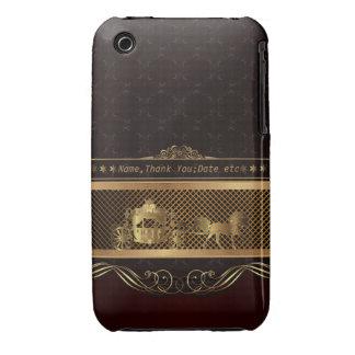 Hochzeits-goldener Case-Mate iPhone 3 Hülle