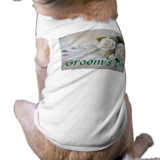 Hochzeits-HundeT - Shirt-Bräutigam Hundeshirts