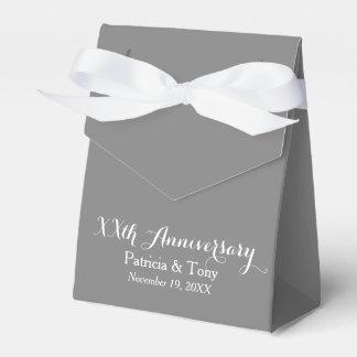 Hochzeits-Jahrestag personalisiert - Auswahlfarbe Geschenkkartons
