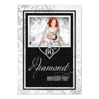 Hochzeits-Jahrestags-Gewohnheits-Foto des 12,7 X 17,8 Cm Einladungskarte