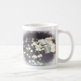 Hochzeits-Kamm Kaffeetassen