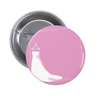 Hochzeits-Kleid: Verschönern Sie im Rosa Runder Button 5,7 Cm