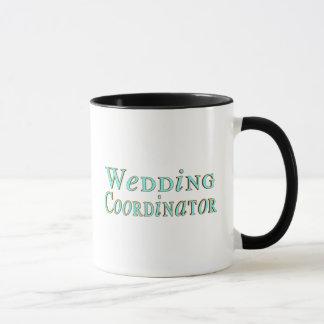 Hochzeits-Koordinator-Tasse Tasse