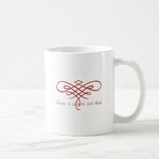 Hochzeits-Liebe-Steppdecke Kaffeetasse