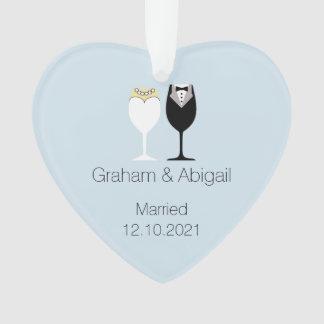 Hochzeits-Paare Ornament