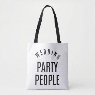 Hochzeits-Party-Leute-Tasche Tasche