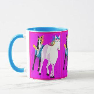 Hochzeits-Pferde Tasse