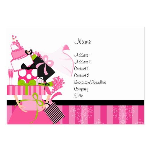 Hochzeits planer mini visitenkarten zazzle for Visitenkarten gratis vorlagen