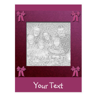 Hochzeits-Rahmen Postkarte
