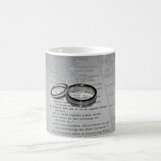 Hochzeits-Ring-Tasse Tasse