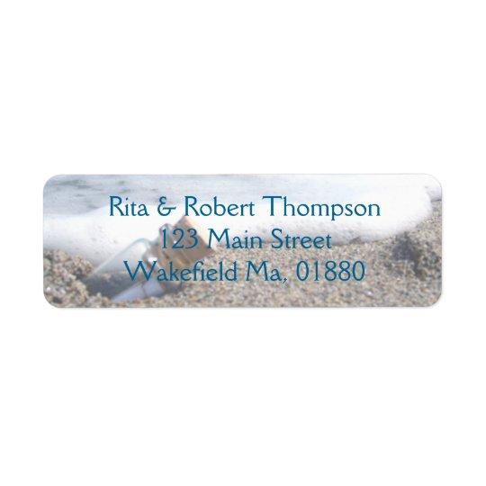 Hochzeits-Rücksendeadressen-Aufkleber - Kleiner Adressaufkleber