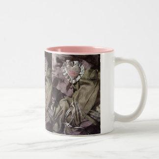Hochzeits-Schatz-Tasse Zweifarbige Tasse