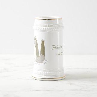 Hochzeits-Stilett beschuht Kunst-Geschenke Kaffeetasse