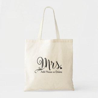 Hochzeits-Tasche für Budget Stoffbeutel