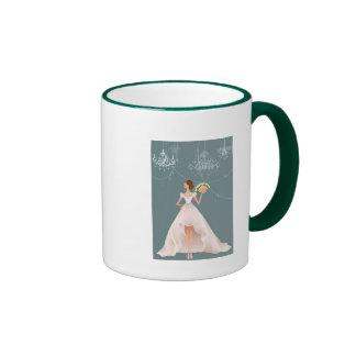 Hochzeits-Tasse Ringer Tasse