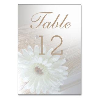 Hochzeits-Tischnummer kardiert rustikales