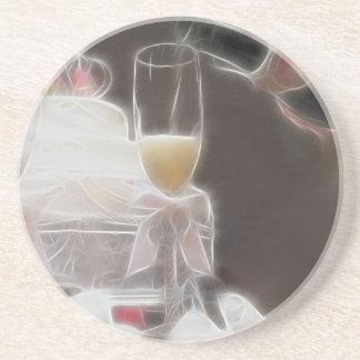 Hochzeits-Toast! Sandstein Untersetzer