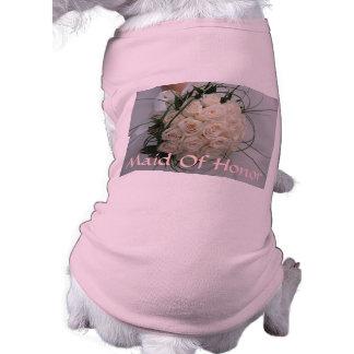 Hochzeits-Trauzeugin-Haustier-Kleidung Haustierklamotten