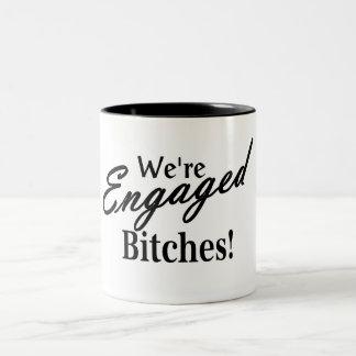 Hochzeits-Verlobung Kaffeehaferl