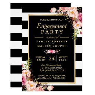 Hochzeits-Verlobungs-Party-Vintages Karte