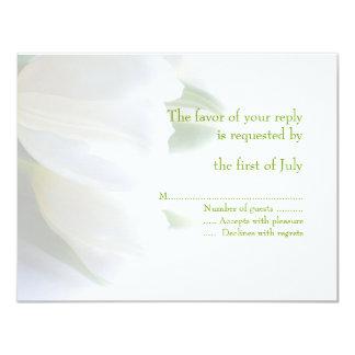 Hochzeits-Wartekarte 10,8 X 14 Cm Einladungskarte