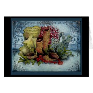 Hochzeitstag-Geschenkkarte Jahr der Koralle 35
