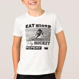 Hockey-amerikanischer Kleidergeldstrafe-Jersey-T - T-Shirt