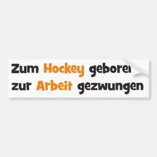 Hockey Autoaufkleber